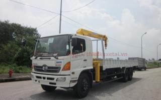 Đại lý xe tải gắn cẩu tại Yên Bái, Bán xe tải gắn cẩu tại Yên Bái