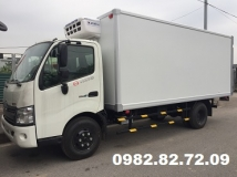 Thông số kỹ thuật xe tải Hino đông lạnh 3,5 tấn
