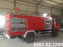 Xe cứu hỏa 4 khối hino FC cabin đơn|bán xe cứu hỏa hino 4 khối