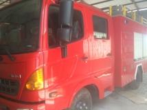 Xe chữa cháy 4 khối Hino FC cabin kép|Bán xe cứu hỏa 4 khối