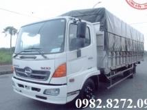 Xe Hino 6 tấn FC9JLTA thùng mui bạt