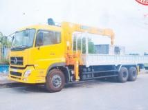 Xe tải Dongfeng gắn cẩu Soosan 7 tấn