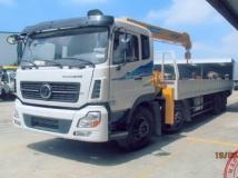 Xe tải DongFeng Trường Giang gắn cẩu Soosan 7 tấn