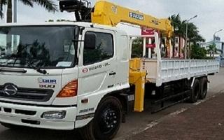 Đại lý xe tải gắn cẩu tại Điện Biên, Bán xe tải gắn cẩu tại Điện Biên