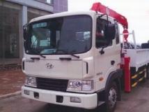 Xe tải Hyundai HD210 gắn cẩu Unic 4 tấn 5 đốt