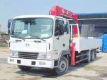 Xe tải Hyundai HD210 gắn cẩu Unic 5 tấn 4 đốt
