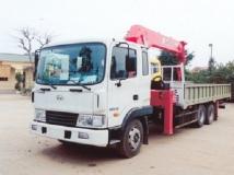 Xe tải Hyundai HD210 gắn cẩu Unic 8 tấn 5 đốt