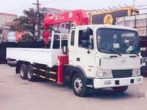Xe tải Hyundai HD210 gắn cẩu Unic 4 tấn 6 đốt