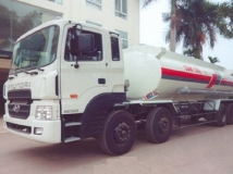 Xe tải hyundai HD320  19 tấn chở xăng