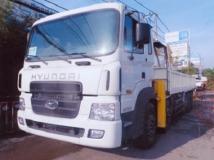 Xe tải Hyundai HD360 25 tấn gắn cẩu Soosan 10 tấn