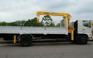 Đại lý xe tải gắn cẩu tại Sơn La, Bán xe tải gắn cẩu tại Sơn La