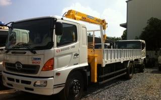 Đại lý xe tải gắn cẩu tại Vĩnh Phúc, Bán xe tải gắn cẩu tại Vĩnh Phúc