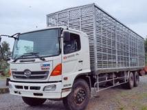 Xe tải Hino 15 tấn FL8JTSL chở Gia Cầm