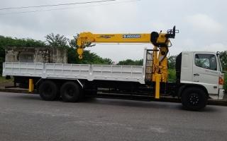 Đại lý xe tải gắn cẩu tại Bắc Giang, Bán xe tải gắn cẩu tại Bắc Giang