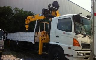 Đại lý xe tải gắn cẩu tại Bắc Ninh, Bán xe tải gắn cẩu tại Bắc Ninh