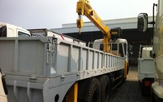Đại lý xe tải gắn cẩu tại Hà Tĩnh, Bán xe tải gắn cẩu tại Hà Tĩnh