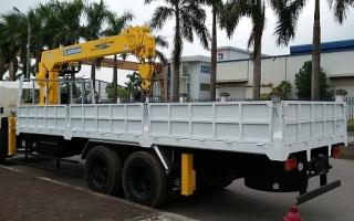 Đại lý xe tải gắn cẩu tại Nghệ An, Bán xe tải gắn cẩu tại Nghệ An