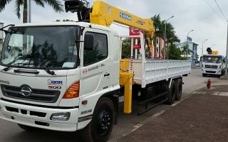 Đại lý xe tải Hino tại Hưng Yên