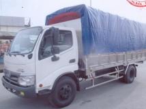Xe tải hino dutro 300 WU342 5 tấn thùng bạt