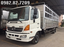 Xe tải hino 11 tấn nâng tải FC9JNTC thùng bạt dài 7,2m