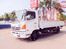 Xe tải Hino FC 6 tấn chở Kính.