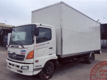 Xe tải Hino FC thùng cao 4m, 4 cánh