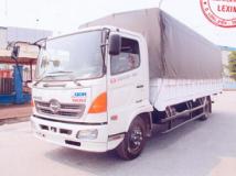 Xe tải Hino FC thùng mui bạt 6 tấn