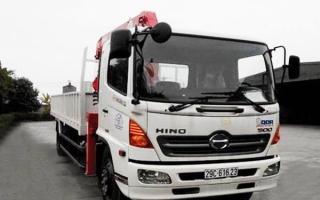 Đại lý xe tải gắn cẩu tại Hà Nam, Bán xe tải gắn cẩu tại Hà Nam