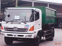 Xe tải Hino FG chở rác
