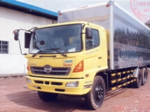 Xe tải Hino FL8JTSA 15 tấn thùng kín 7,6m