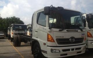 Xe tải hino nâng tải Model FG8JJSB, FG8JPSL, FG8JPSB 16 tấn