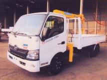 Xe tải Hino XZU720 gắn cẩu Soosan 2 tấn