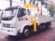 Xe tải thaco onlin 800A gắn cẩu soosan 5 tấn