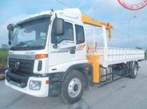 Xe tải thaco auman C160 gắn cẩu soosan 5 tấn