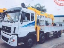 Xe tải Trường Giang gắn cẩu Soosan 10 tấn