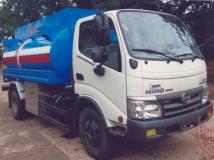 Xe téc Hino chở xăng dầu 6 khối