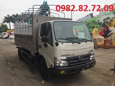 giá xe tải hino 5 tấn nhập khẩu 2018