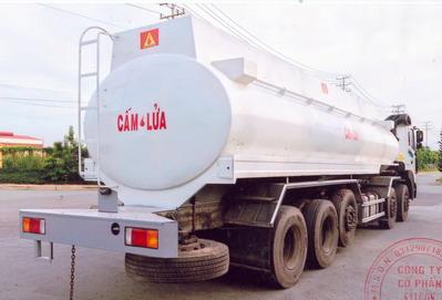 xe bồn chở xăn g dầu hd360 26 khối