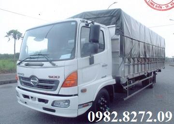Xe tải FC9JLTA mui bạt