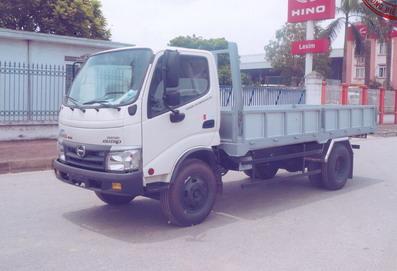 xe tải hino dutro 5 tấn thùng lửng