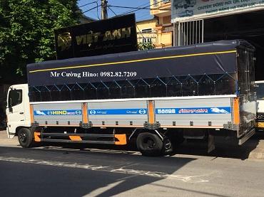 xe tải hino bửng nhôm