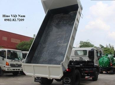 xe tải ben hino 8 tấn