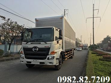xe tải 8 tấn thùng kín