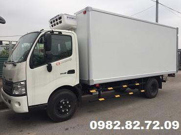 Xe tải Hino Đông lạnh giá rẻ