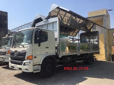 xe tải hino 8 tấn cánh dơi