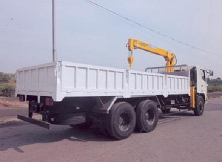 xe hino fl8jtsa thùng ngắn gắn cẩu soosan 5 tấn