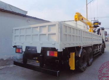 Xe tải Hyundai gắn cẩu soosan 7 tấn